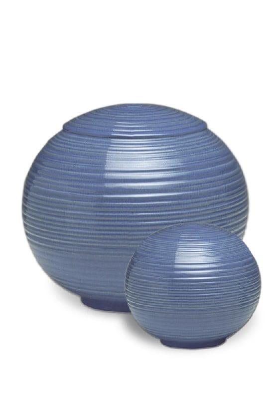 porselein miniurn urn sfera iceblue