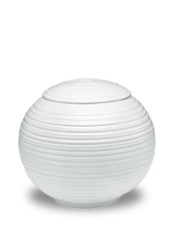 porselein miniurn sfera wit
