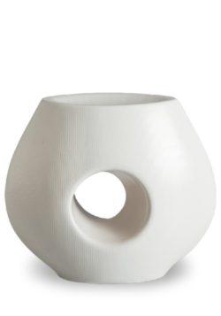 porselein urn structure wit