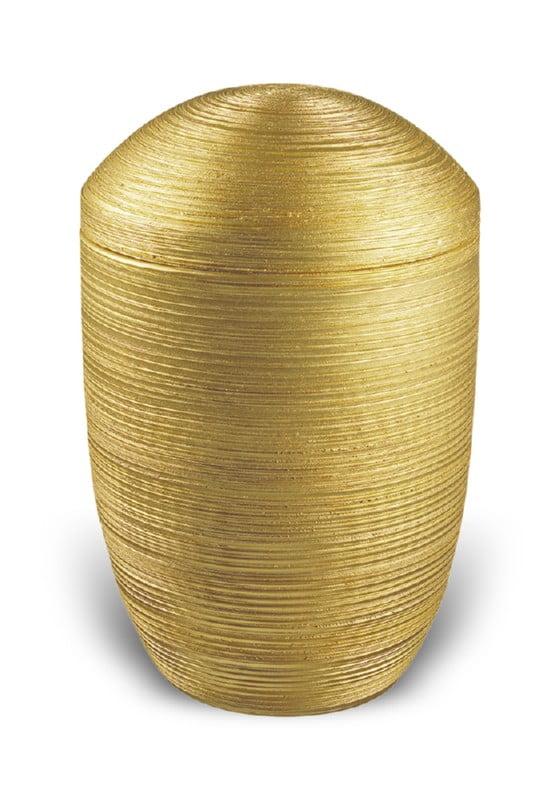urn keramiek luxor goud