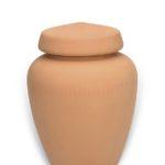 urn keramiek naturel rood bruin