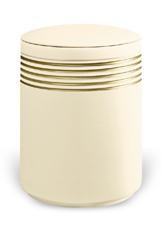urn keramiek nova sandbeige gold