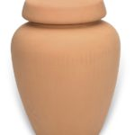 urn keramiek rood bruin