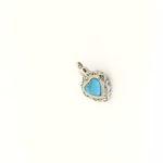 assieraad blauw hart barok