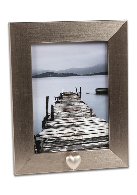 fotolijst met hartje asbusje zilver