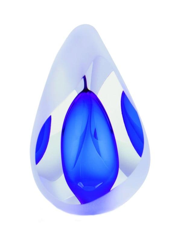 mini urn glas druppel reflectie