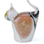 mini urn glazen poes in diverse kleuren