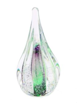 mini urn sparkle druppel van glas