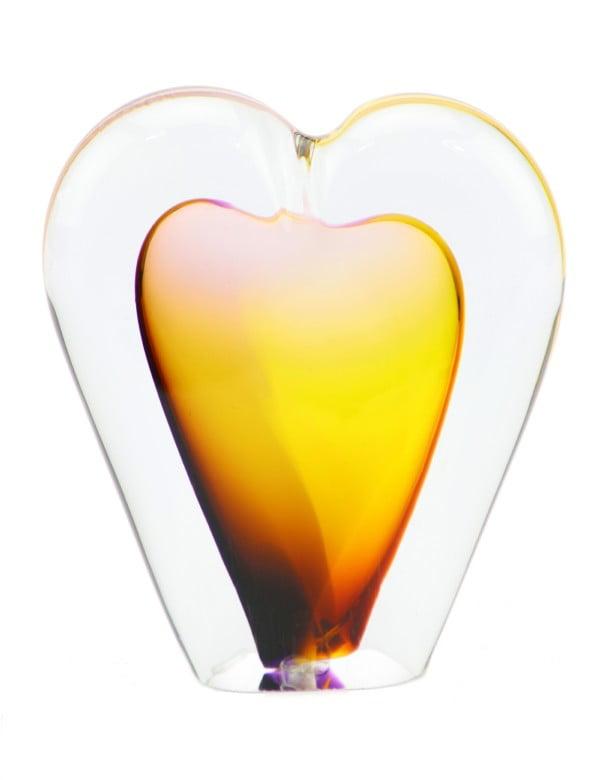mini urn as hartje klein in diverse kleuren