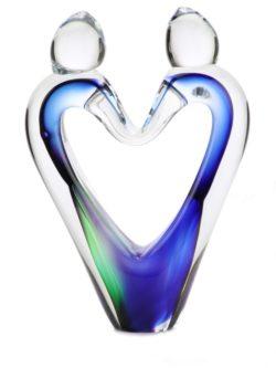 mini urn glas eeuwige liefde