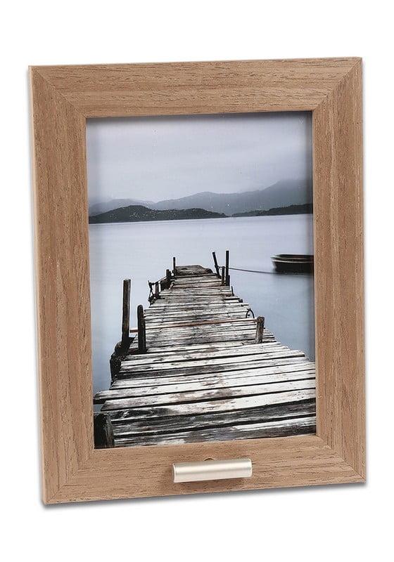 fotolijst met klein asbusje 13x18 hout
