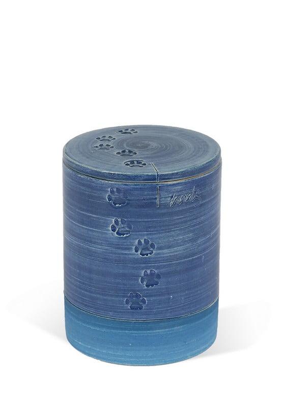 dieren mini urn kormos met pootjes