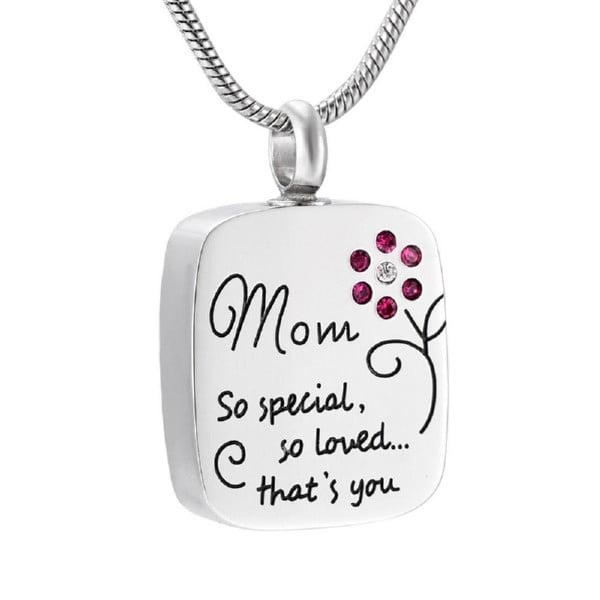 assieraad special mom met strass roze bloem