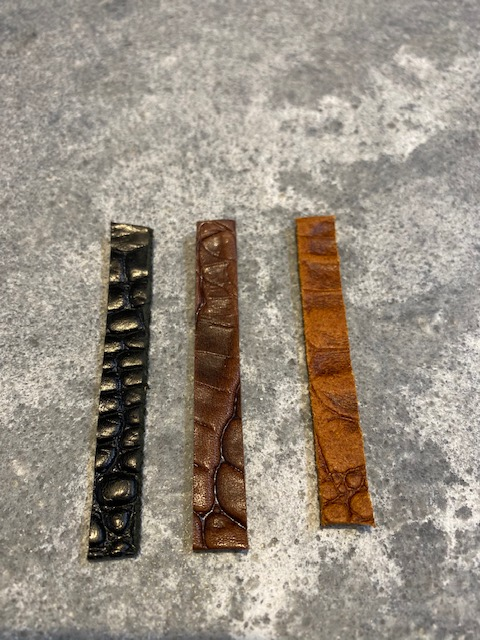 wikkelarmband croc leer met vulbare bead