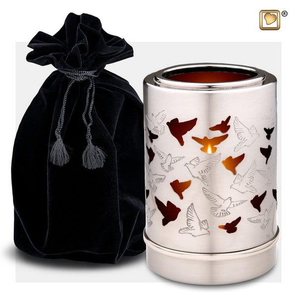 waxinelicht reflections urn collectie