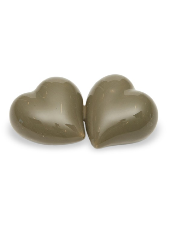 mini urn dubbel hart in verschillende kleuren