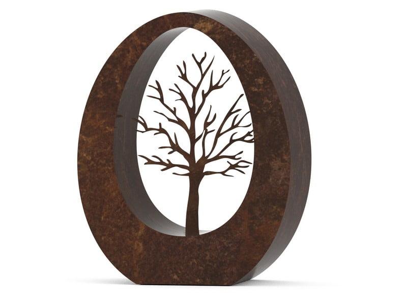 urn RVS OVAL®levensboom