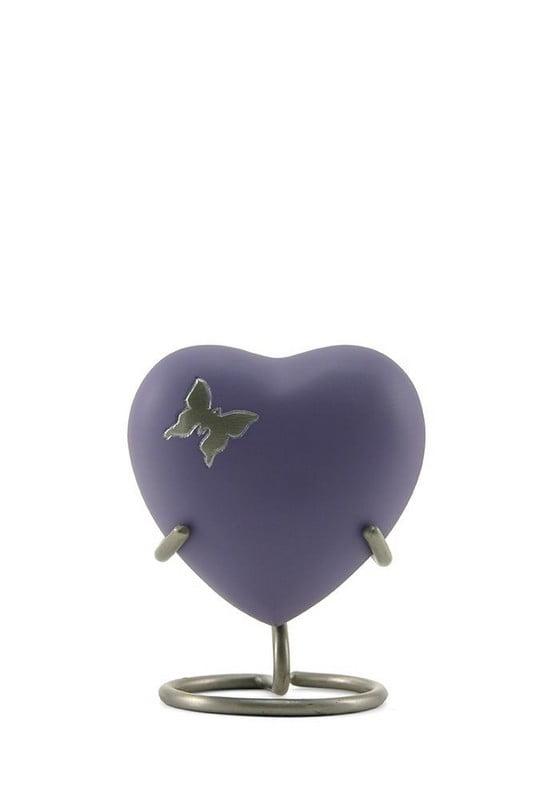 Mini urn hart met diverse afbeeldingen