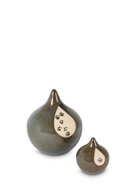 dieren-mini-urn-druppel-glimmende-pootjes