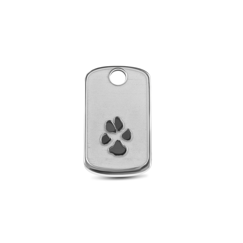 Hanger Dog Tag pootafdruk AP 004 B see you