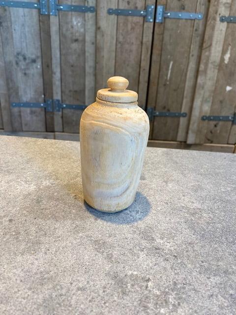 pantonia natuur urn hout mini
