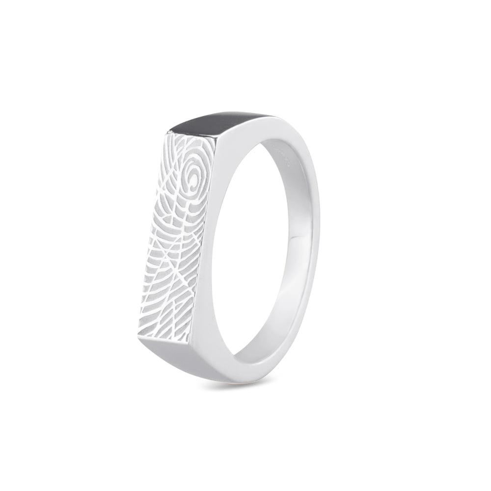 ring met vingerafdruk 454 S