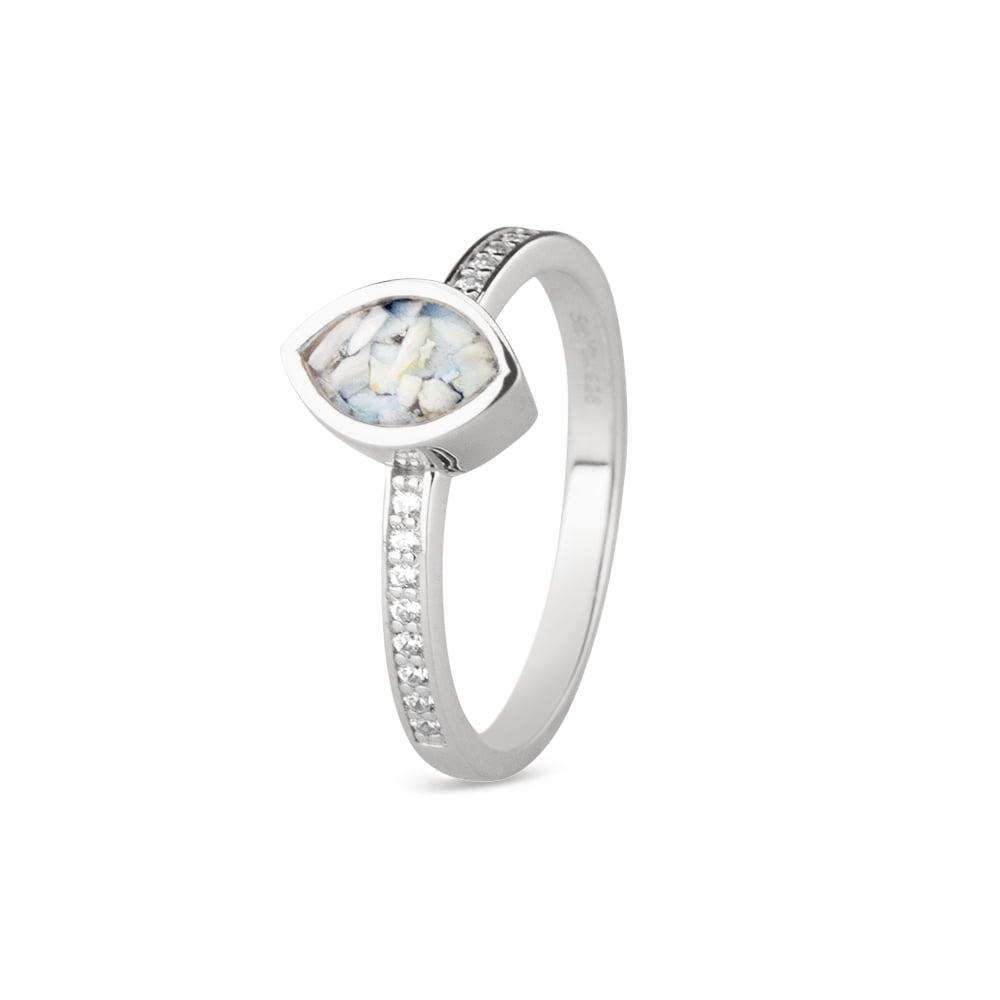 ring met hars en zirkonia RG-016