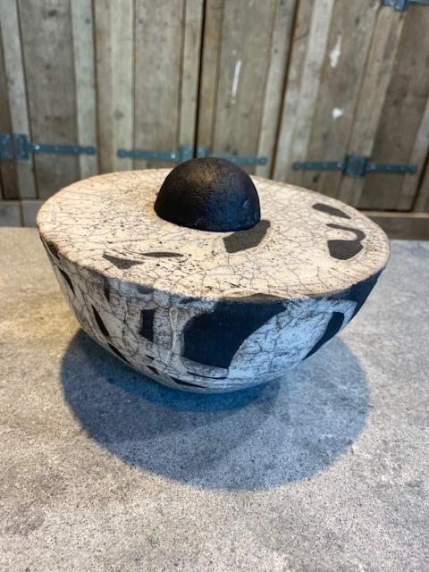 raku serie urnen keramiek