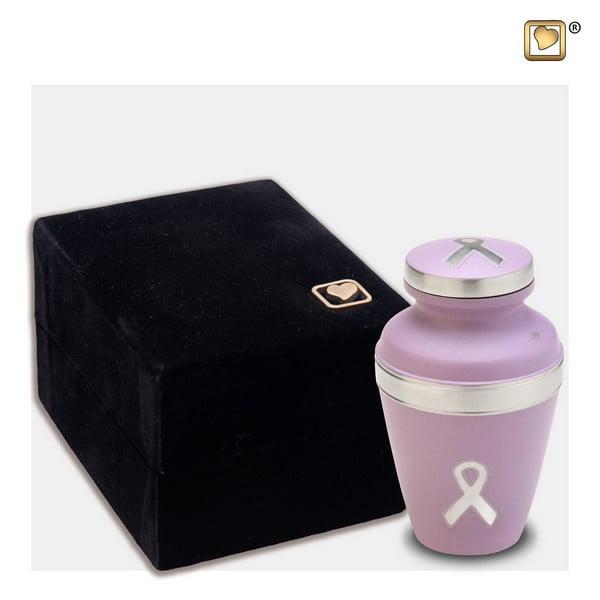 Pinkribbon urn klein awareness collectie