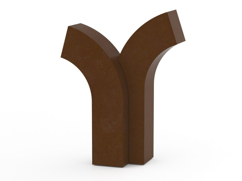 RVS urn brons boom