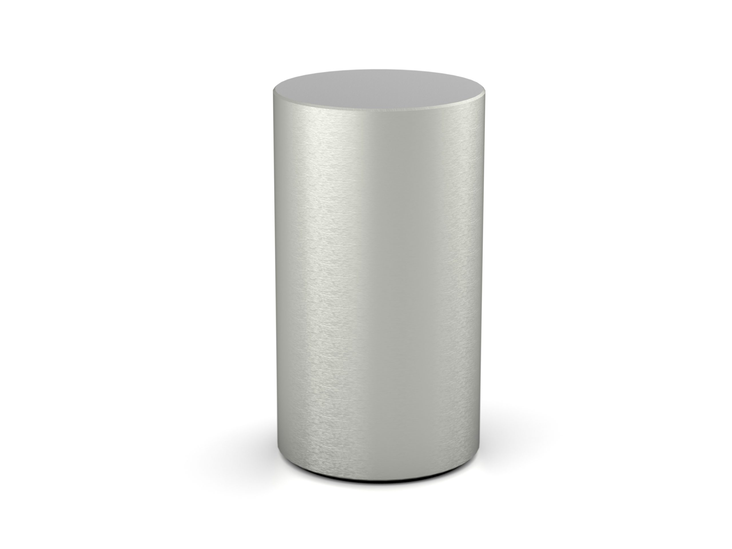 RVS urn cilinder rond