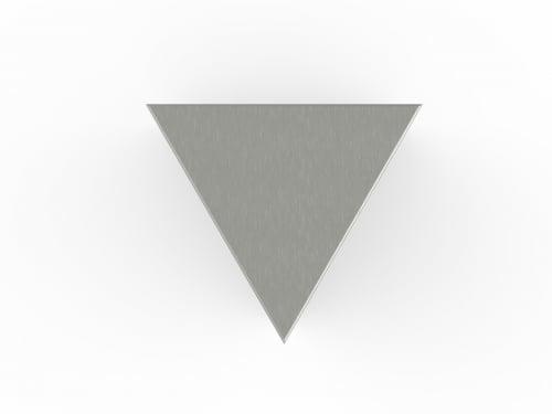 rvs urn triangel
