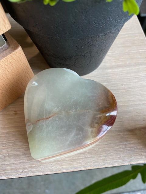 hart onyx mini urn edelsteen