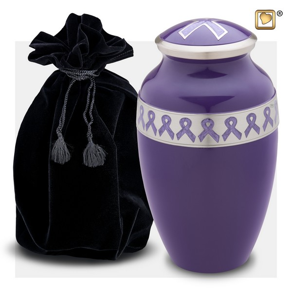 Pinkribbon awareness collectie urnen