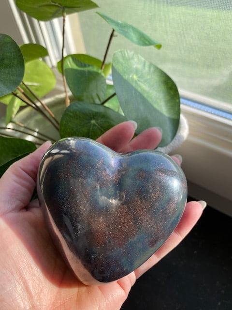 hart miniurn brons keramiek