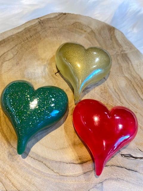 resin urnen is werken met kleur
