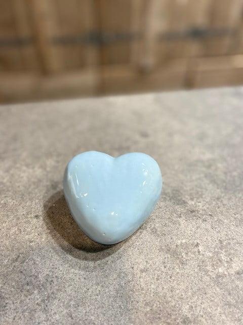 hart miniurn pastel keramiek